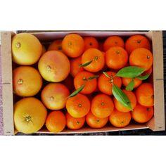 Caja Mixta #Mandarinas y #Pomelos