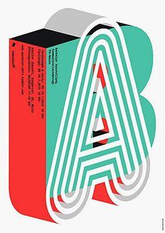 Mainz graduate exhibition, designed by Marcel Hausler.