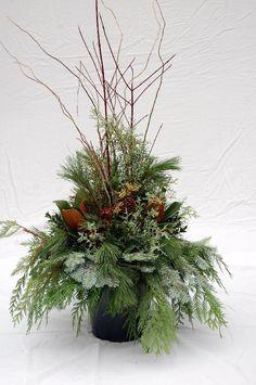 Urn for wedding decoration. Fall theme