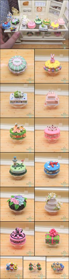 1:6 Cake and Cupcake Commission Details by Bon-AppetEats on DeviantArt