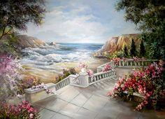 Maher Art Gallery: The artist Anca Bulgaru Landscape Paintings, Watercolor Paintings, Desktop Background Images, Pretty Drawings, Beautiful Sites, Christmas Art, Fantasy Art, Cool Art, Art Gallery