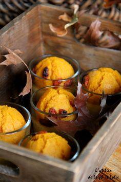 Muffins au potiron et baies de Goji – L'atelier de Steph et Lolie