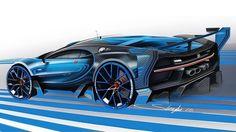 Bugatti Vision Gran Turismo Concept (2015)