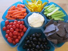 Rainbows and Unicorns Birthday Party - rainbow veggie tray