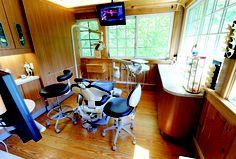 Dental operatory - Gene E. Messenger, DDS, FAACD