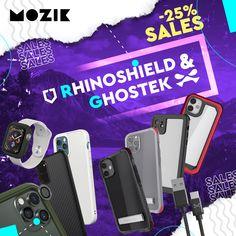 🔴🚩 Οι χειμερινές εκπτώσεις ξεκίνησαν! Βρες όλα τα προϊόντα των κορυφαίων brand #Rhinoshield και #Ghostek με -25% έκτπωση!