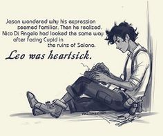 Leo Valdez | Aww this makes me so sad. >_<