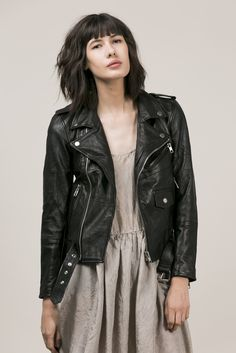 DEADWOOD LEATHER UNISEX RECYCLED JACKET PRE-ORDER – Sisters Of The Black Moon