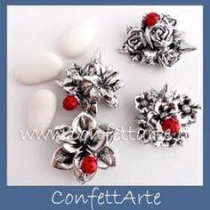 Bomboniera Laurea Rings, Floral, Flowers, Jewelry, Jewlery, Jewerly, Ring, Schmuck, Jewelry Rings