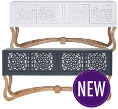Carved Console – 2 Colour Options