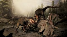 Boreonykus, a new species of dinosaur about the size of a dog and possessing a lethal claw, shown in a handout illustration, has been discovered in northwestern Alberta by an Australian paleontologist.