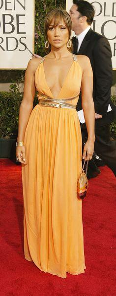 Jennifer Lopez in Michael Kors bei den Golden Globes (2004)