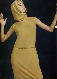 1965 Jacques Heim 60s And 70s Fashion, Mod Fashion, Fashion Beauty, Vintage Fashion, Vintage Style, Vintage Vogue, Retro Vintage, Guy Laroche, Twiggy