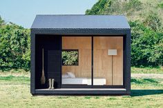 """MUJI has just announced the release of the """"MUJI Hut"""" a tiny space to be used as a weekend getaway or a full time home for a very minimalist person."""