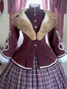 FOR ORDERS ONLY - Custom Made for You - 1800s Victorian Dress - 1850s - 1860s…