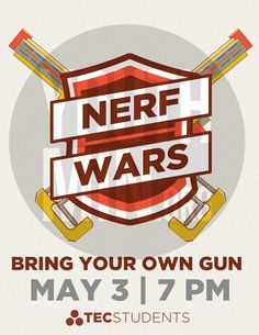 Nerf wars youth group