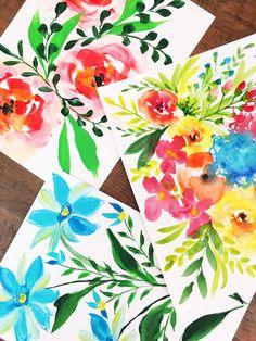 a peek inside the petals and paint art retreat