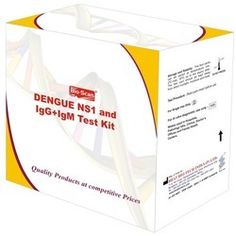 Catering to the demands of customers as a manufacturer, exporter, importer and supplier, we are engaged in offering Dengue NS1 Test Kits, which is highly demanded by the clients due to its precise performance. It is a rapid chromatographic immunoassay for the detection of dengue ns1 antigen and deferential detection of igg and igm antibodies in human serum or plasma or whole blood. These Kits can be used by anyone as the method of using these kits is provided on the enveloped packets…