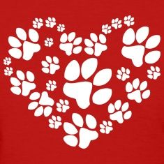 Love Paw... I would love this just painted the wall for my dog wash station