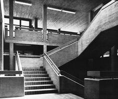 Secondary School, Pratteln, Switzerland 1960s (Wilfried Steib)