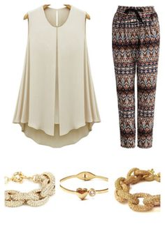 Don't forget those nude heals and beachy wave hair the time is summer and it calls for tribal prints, layer those bracelets up kittens (princesspjewelry)   Xoxo  Kz