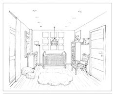 1 point perspective Daily sketch 98 by ~hardcorish on deviantART
