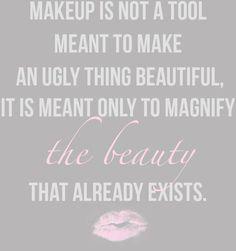 Makeup only a tool