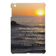 Psalm 103:5 iPad mini cover by Scripture Classics #gift #zazzle #photogift #bible #Christian