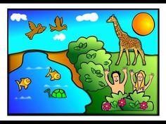 ▶ God is de kunstenaar - YouTube  -> Scheppingsverhaal