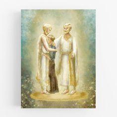 First Vision Print - Joseph Smith - Restoration Art - Joseph Saw the God of Love print Joseph Smith History, Vision Art, Lds Art, Call Art, Christian Art, Printing Services, Fine Art Paper, Jesus Christ, Watercolor Paintings