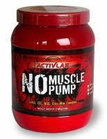 ActivLab NO Muscle Pump to odżywka powodująca dużą pompe mięśniową która jest bardzo cenna w okresie intensywnych ćwiczeń na siłowni. Bardzo często stosowany suplement przez kulturystów.