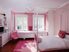 One Wall Says It All - Top Bedroom Trends for Kids on HGTV
