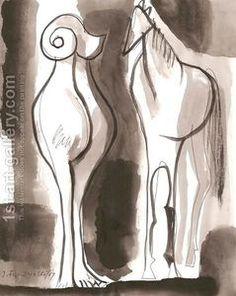 abstract animals - jerzy faczynski