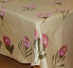 43 Best Unique Hand Painted Table Cloths Images Cloths Dresses