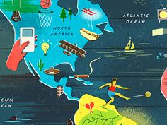 Owen Gatley - Inventions map