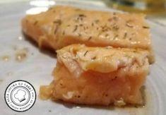 Migas de Salmón a Baja Temperatura con Mayonesas de Wasabi y Salsa de Ostras