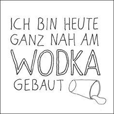 "sticky jam Kühlschrankmagnet ""Nah am Wodka"" – Homemade in Hamburg"