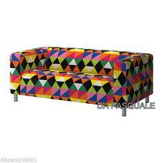 IKEA Klippan Slipcover Cover for Loveseat 2 Seat Sofa Randviken Multicolor New | eBay