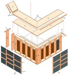 build a dry bar | The Learn As I Go Theater/Bar Build | gina house ...