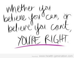 Whether you believe