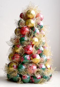 how to make sweet christmas tree - crafts ideas - crafts for kids
