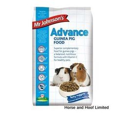 Advance Guinea Pig Food from Mr Johnsons is a complementary food suitable for all guinea pigs. This nutritious & wholesome tasty nugget - supplies guinea pigs with a fibrous mono-component food that prevents selective feeding. Rabbit Diet, Rabbit Food, Guinea Pig Food, Guinea Pigs, Mr Johnson, Food T, Healthy Pets, Healthy Food, Fresh Fruit