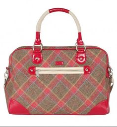 29d3a5dd2998 Tartan Weekender bag from Ness. Ness is my new favorite store in Scotland.  Picked