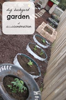 DIY Backyard Garden - Delicate Construction