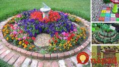 41 geniálnych nápadov, ako využiť tehly v záhrade!