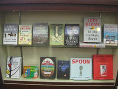 What a great display idea! via Wellesley Books: Rhymes With June