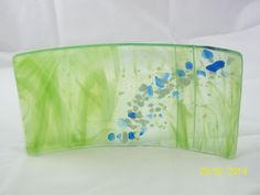 Dragon Scale Dreams  Fused Glass Artistry by Maija Steele