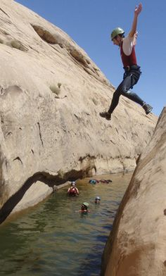 Beat the Summer Heat Canyoneering with Moab Cliffs & Canyons - Utah