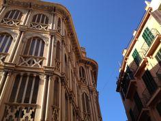 Beautiful architecture in Palma