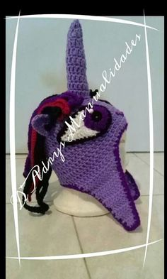 Gorro de Twilight Sparkle. (My Little Pony)